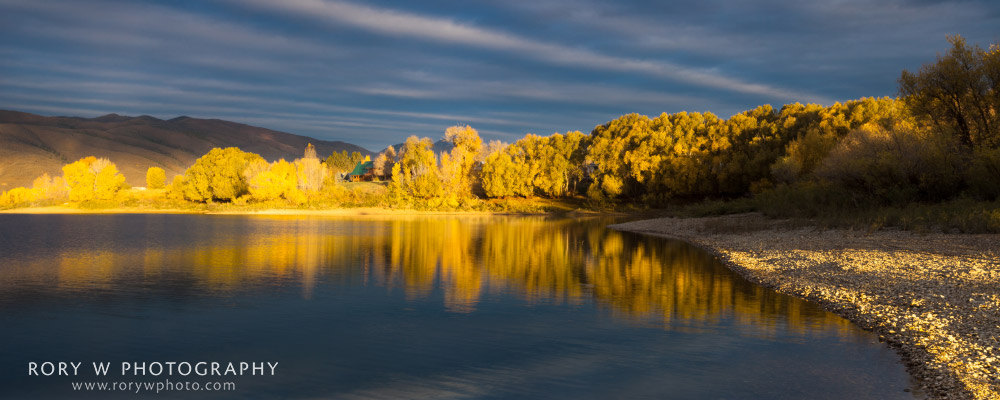 Autumn at Pineview Print