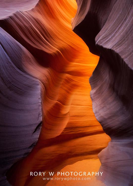Antelope Canyon Inner Glow Print