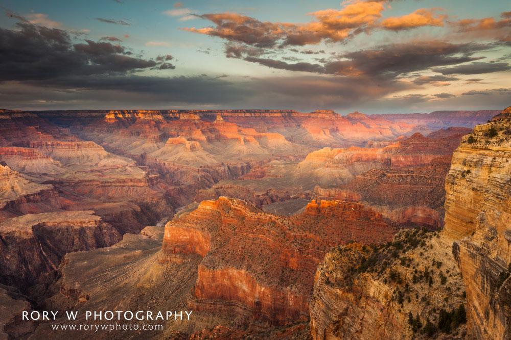 Grand Canyon Sunset East Print