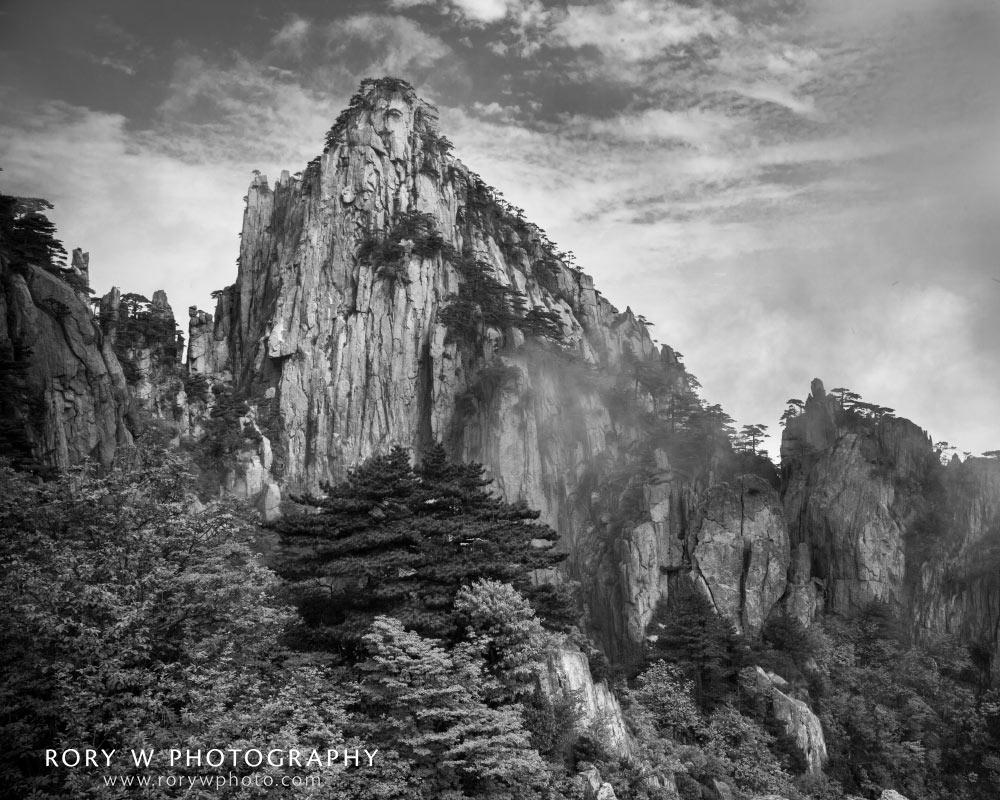 Huangshan Mountains, China Print