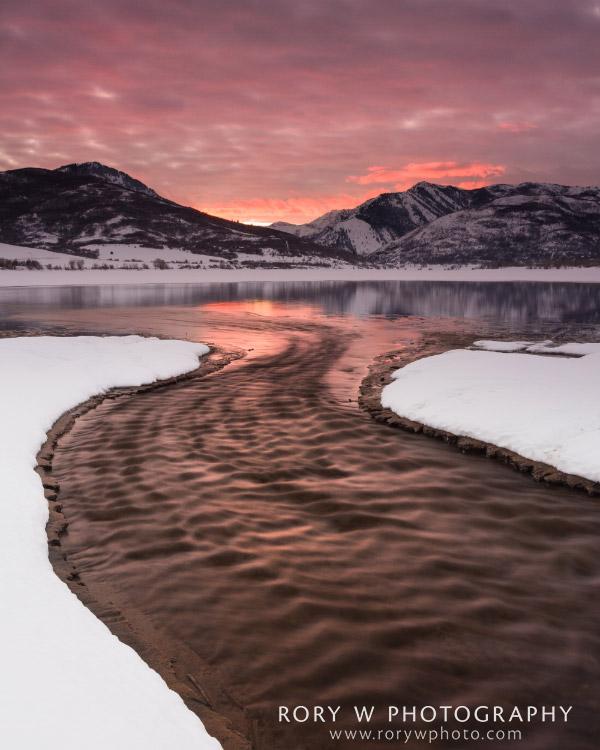 Winter Flow Print