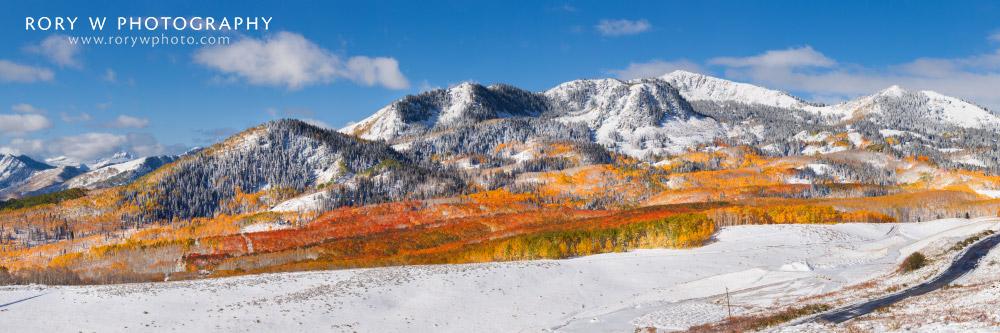 Autumn Panorama Print