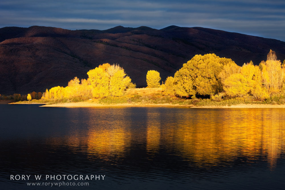 Autumn Reflections Print