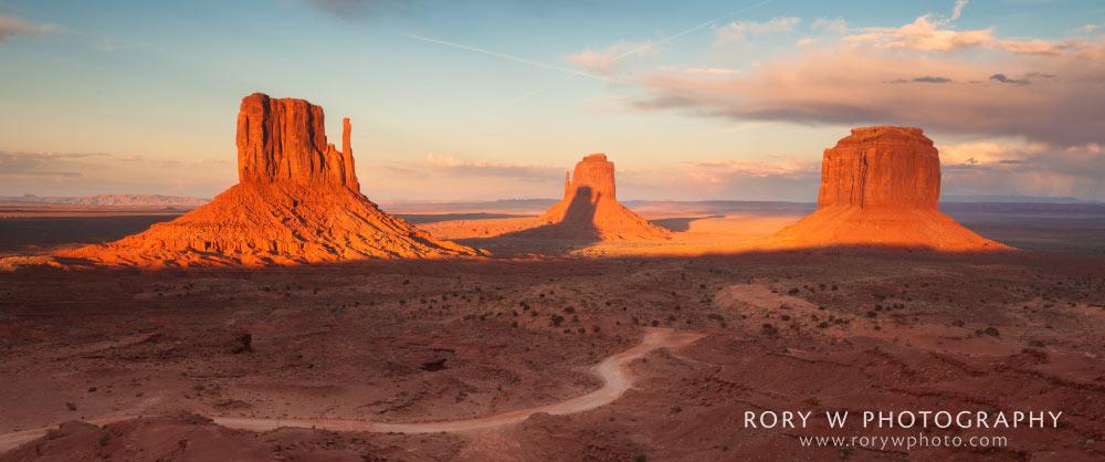 Monument Valley Sunset Print