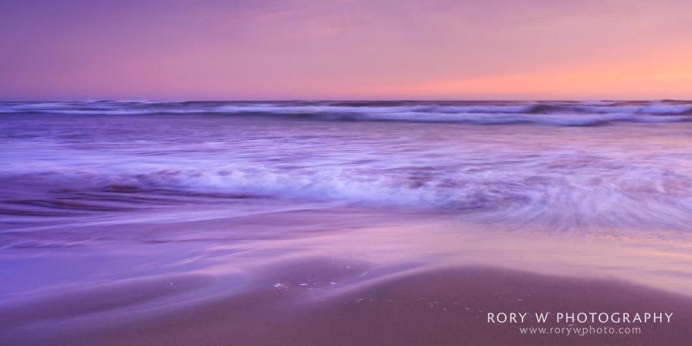 Oregon Coast Beach – Pastel Sunset Print