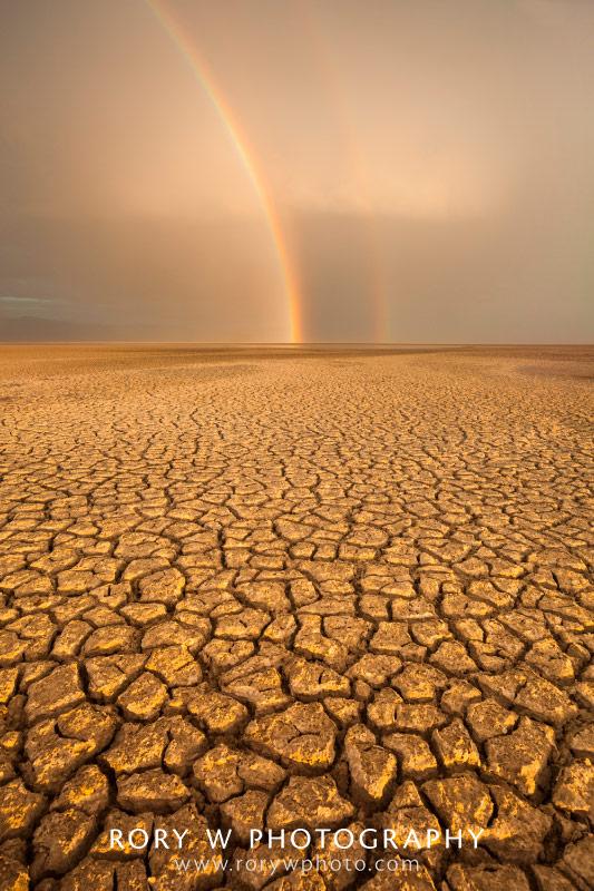 Rainbow at Antelope Island Print