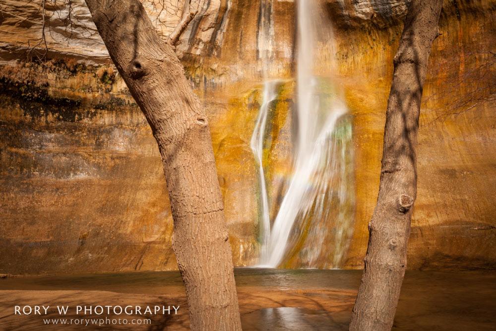 Calf Creek Falls Framed Print
